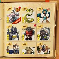 《功夫熊貓3》官方手游戰斗截圖
