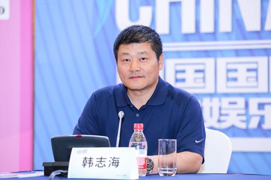 ChinaJoy组委会秘书长、上海?#21644;?#20449;恒展览有限公司董事长-韩志海