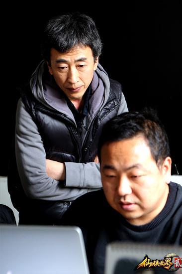 陈同勋与其工作室伙伴