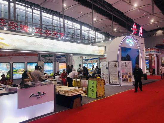 2019广东国际旅游产业博览会安徽精彩亮相
