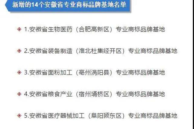 安徽省医专校园网_安徽省新增14个专业商标品牌基地_新浪安徽_新浪网