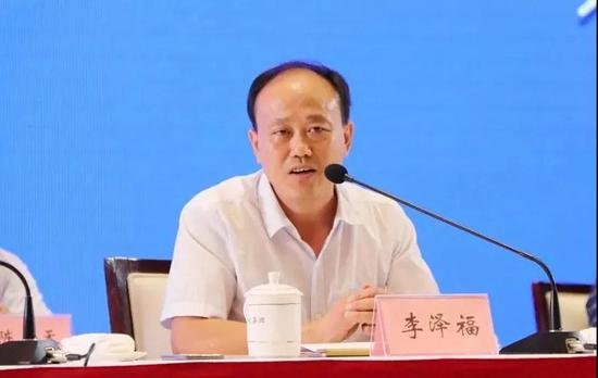 安徽省农科院副院长李泽福