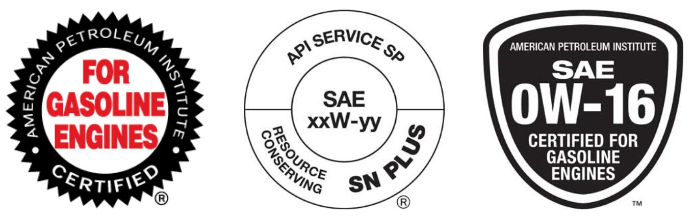 API SP标准证书范例