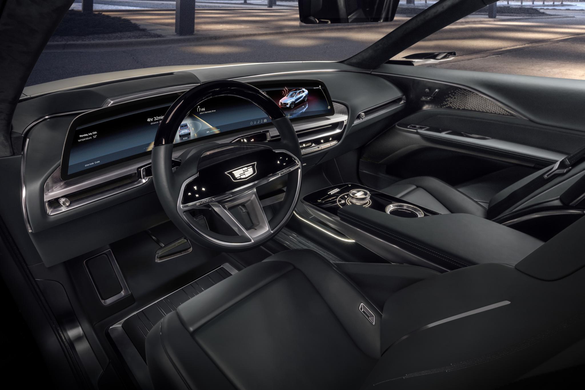 全新一代VCS虚拟座舱系统将于2022年率先搭载于凯迪拉克车型