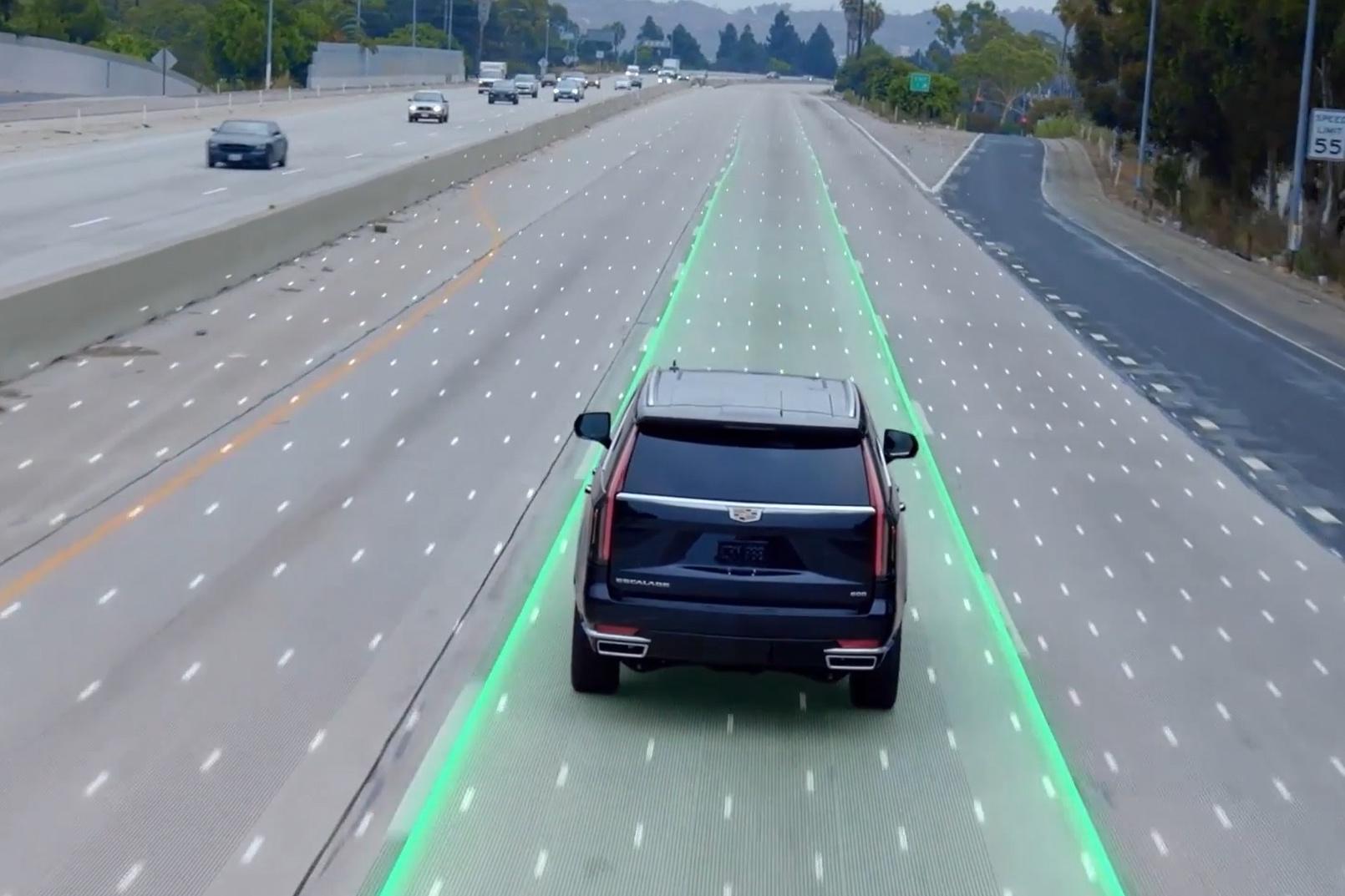 增强版Super Cruise™超级智能驾驶系统