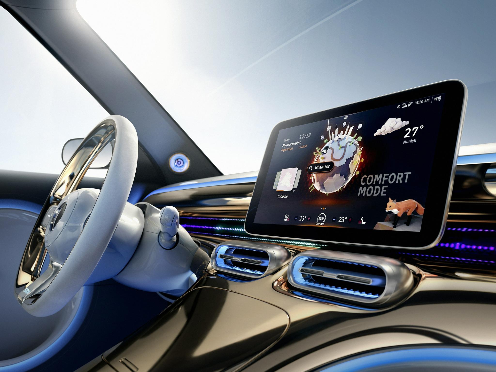 2021慕尼黑车展:全新smart精灵#1观念车全球首秀