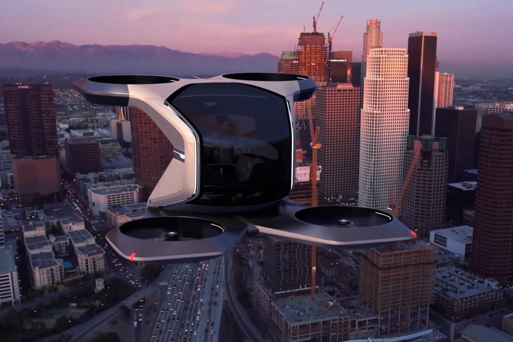凯迪拉克VTOL垂直起降飞行器