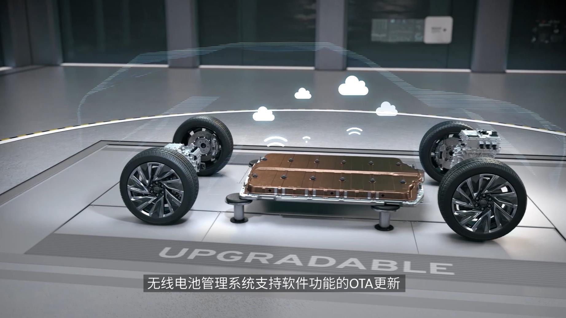 Ultium平台业内首个采用无线电池管理系统