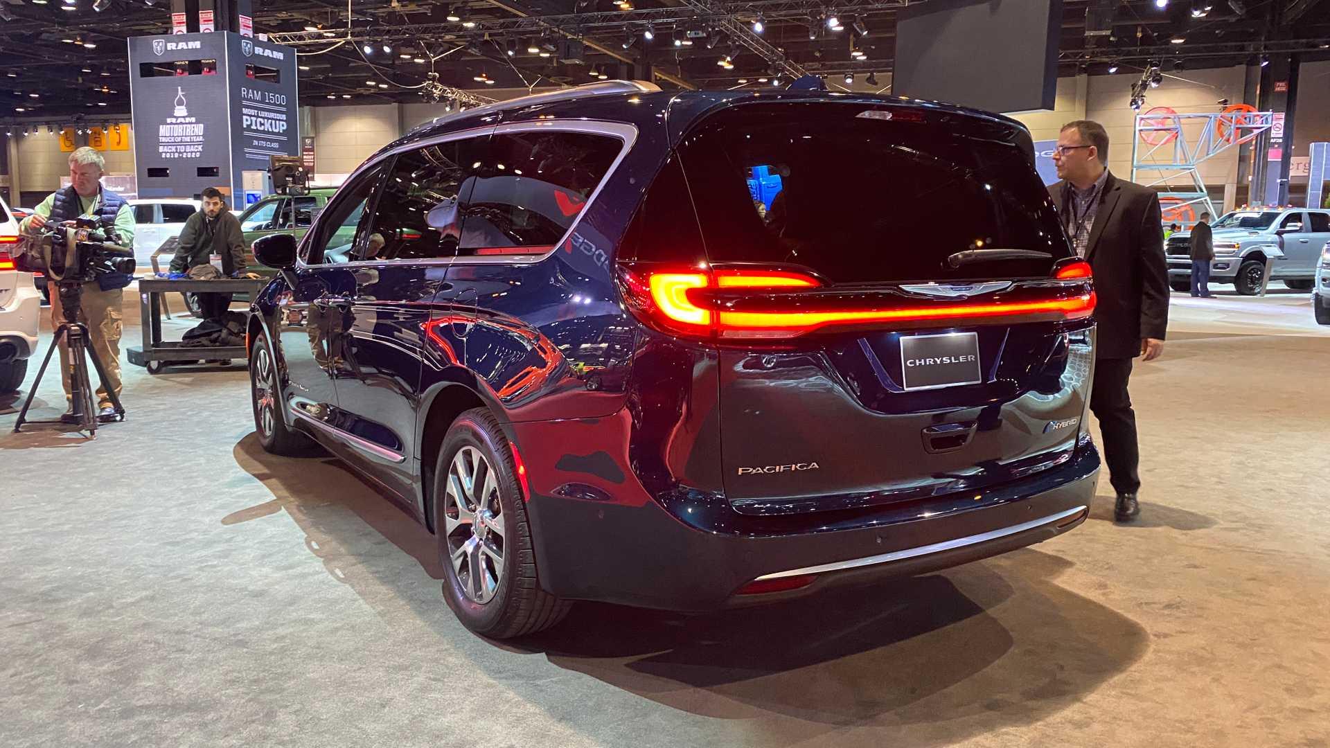 2020芝加哥车展:克莱斯勒新款大捷龙亮相