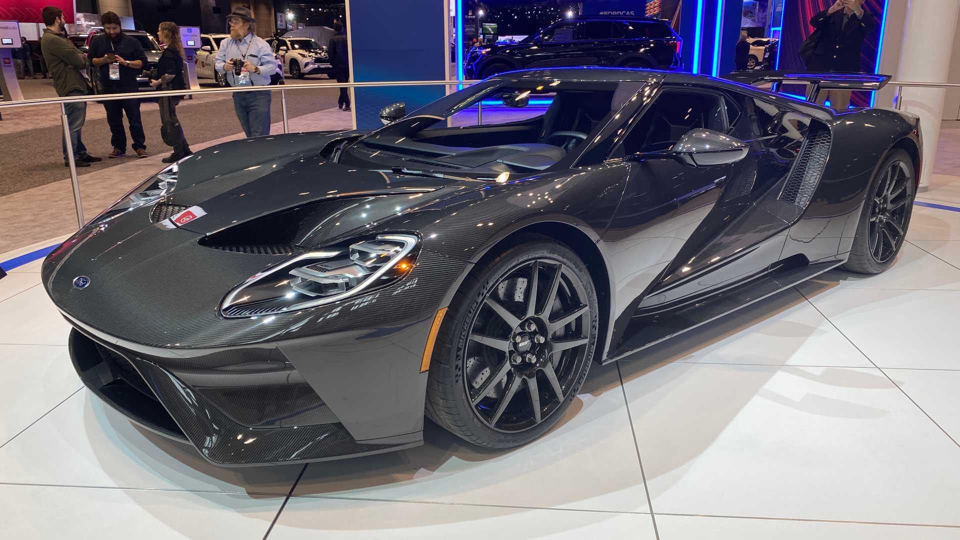 芝加哥车展:福特GT液态碳纤版发布