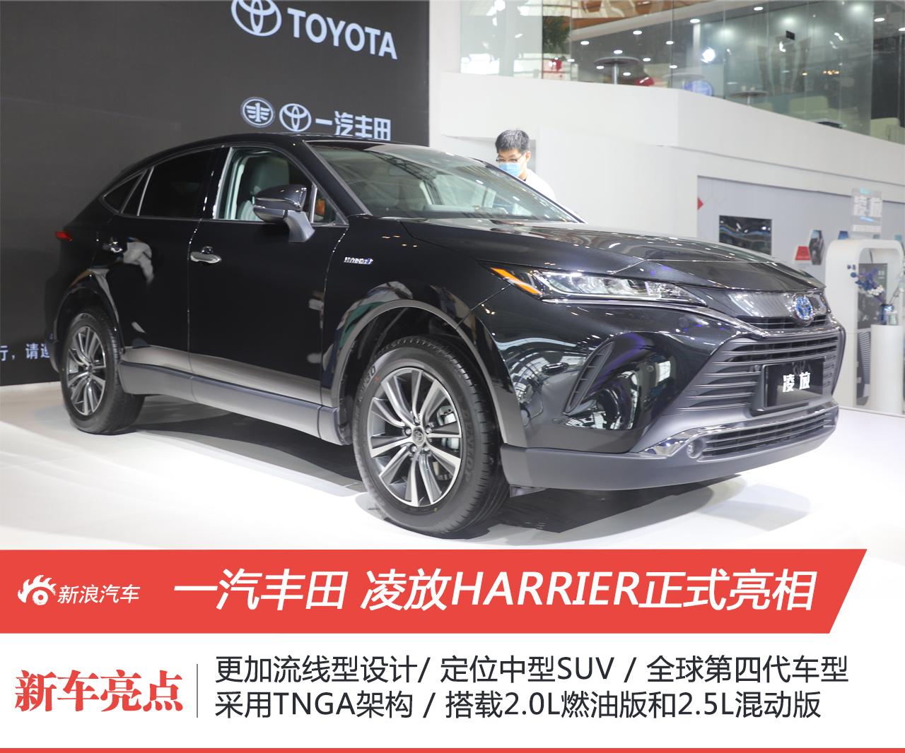 2021天津车展:一汽丰田凌放HARRIER表态