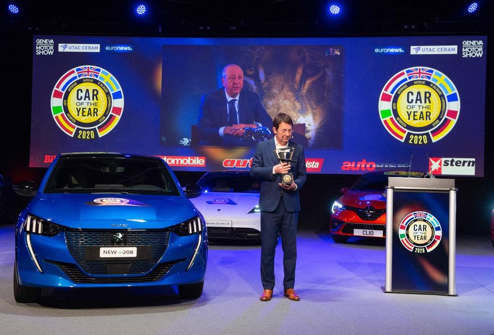 标致208获日内瓦车展2020年度汽车大奖