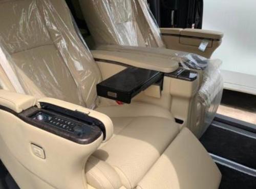 新款豐田埃爾法商務車最新價格