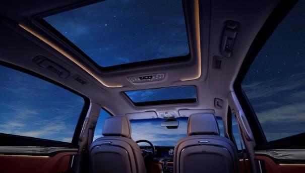 2022款别克GL8 艾维亚专属128色环境氛围照明系统