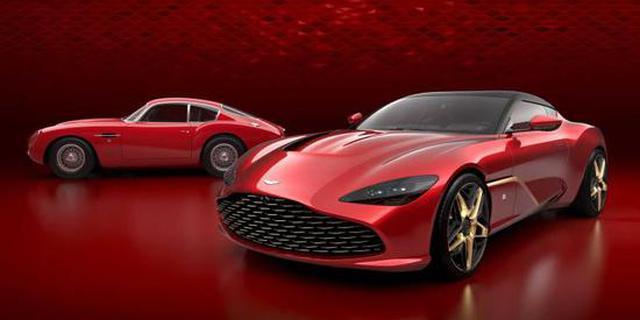 马丁DBS GT Zagato官图 全球限量19台
