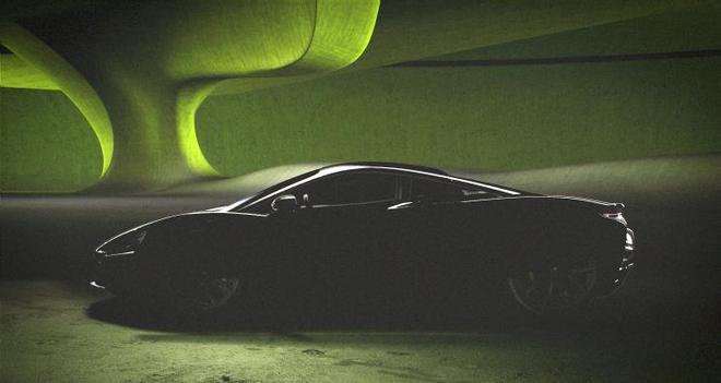 V6混动时代!迈凯伦全新超跑最新预告图