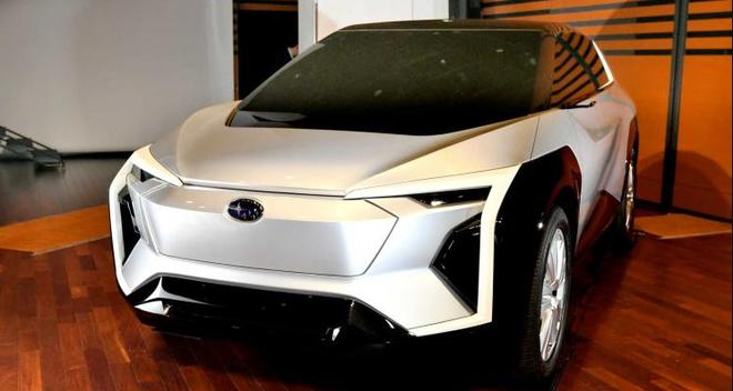 斯巴鲁全新电动车发布 或2025年推出