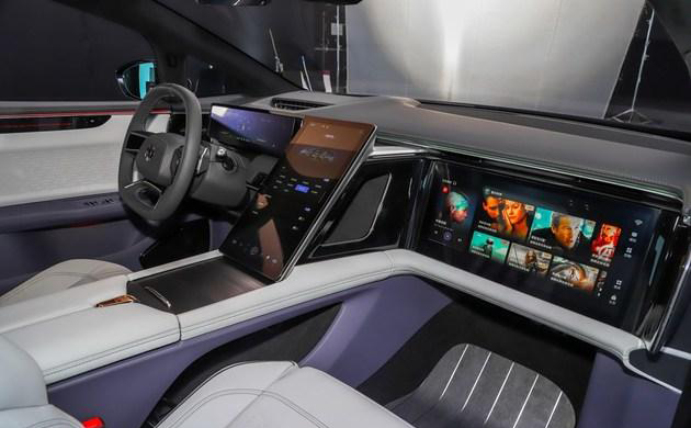 2021粤港澳车展:高合HiPhi X正式亮相