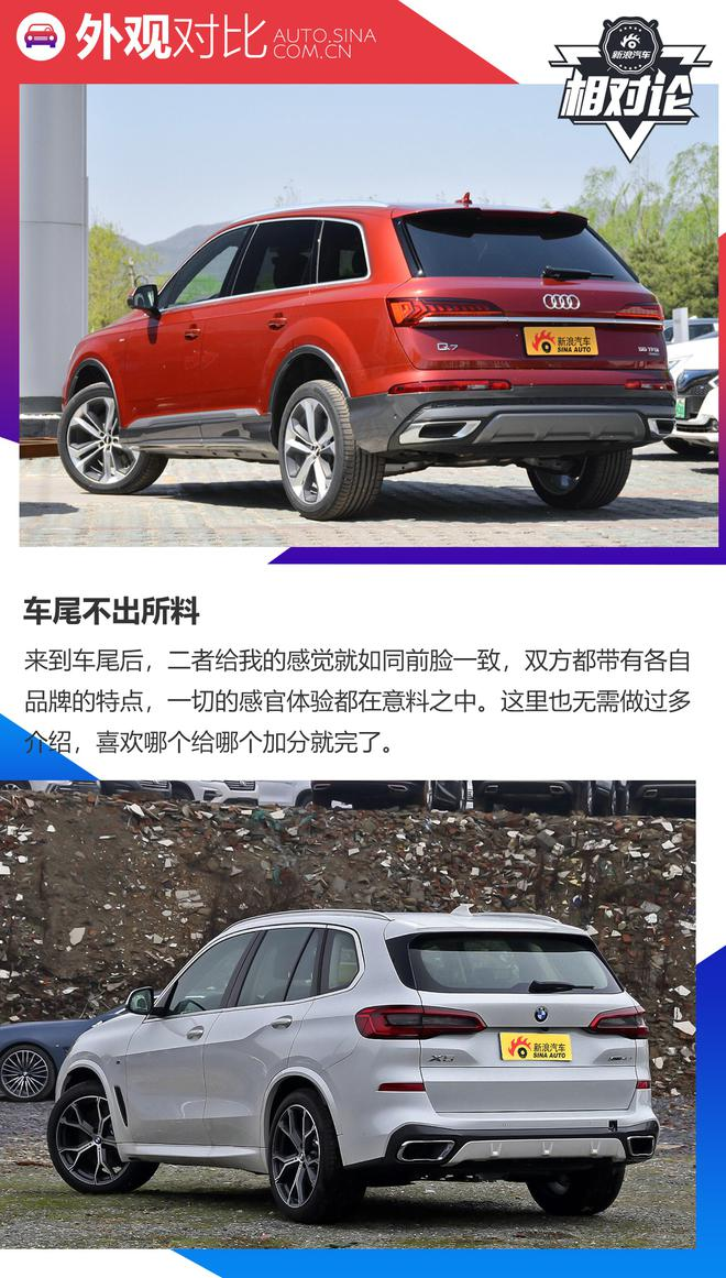 奥迪q7-宝马新x5领衔_看完就知道奥迪Q7和宝马X5买哪个好-新浪汽车