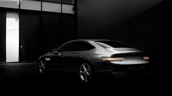 全新捷恩斯G80官图曝光 整车设计颇具高级感