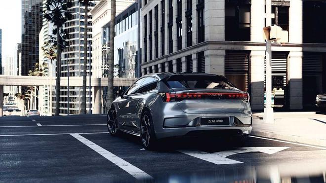 领克zero concept纯电轿车