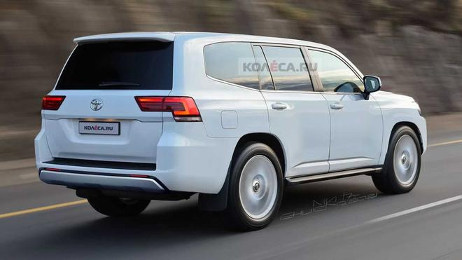 全新一代丰田Land Cruiser最新效果图曝光 配备全LED前大灯