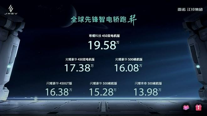 雷诺江铃羿正式上市 售13.98-19.58万元
