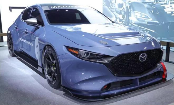 Mazda 3赛道版实车发布