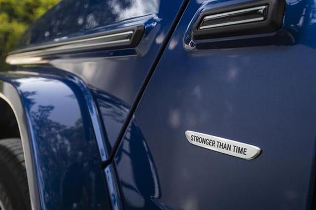 40周年诞辰纪念 奔驰G级特别版官图发布