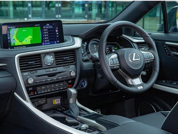 雷克萨斯RX新车型售价 搭3.5L/运动外观造型