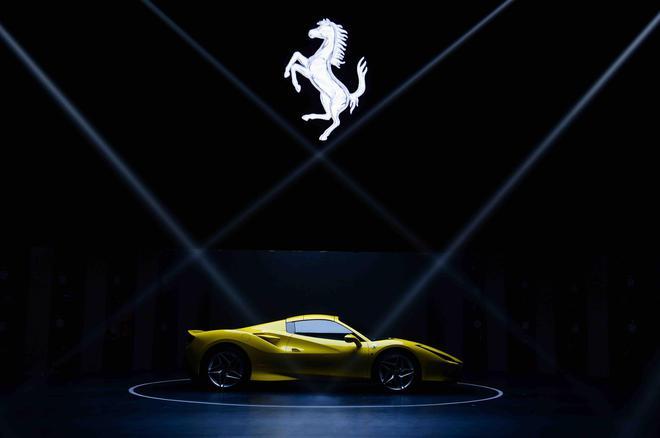 全新法拉利F8 Spider亚洲首秀