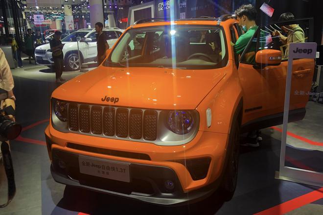 2019成都车展:新款Jeep自由侠