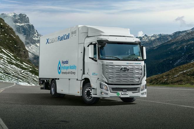 现代Xcient燃料电池卡车成功交付 2022年进军中国市场