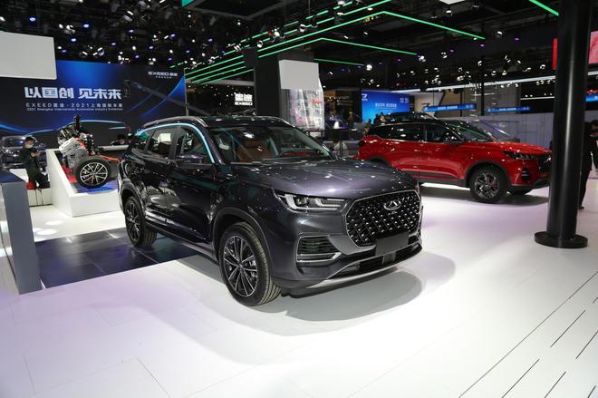 2021上海车展探馆:奇瑞瑞虎8 PHEV车型亮相