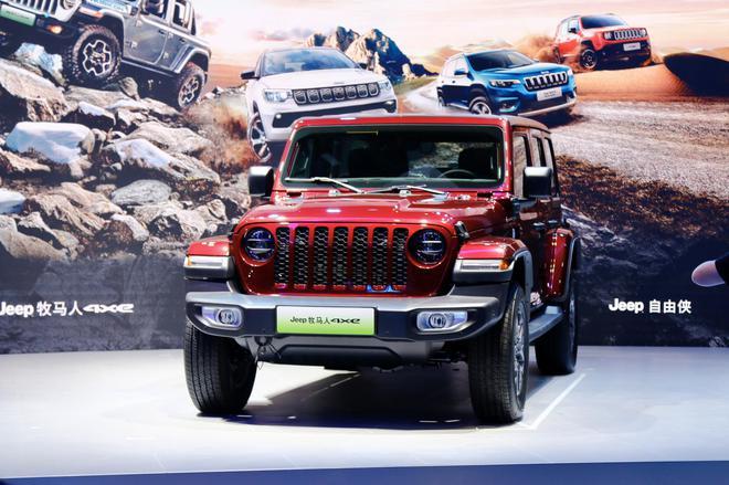 2021上海车展探馆:Jeep牧马人4xe