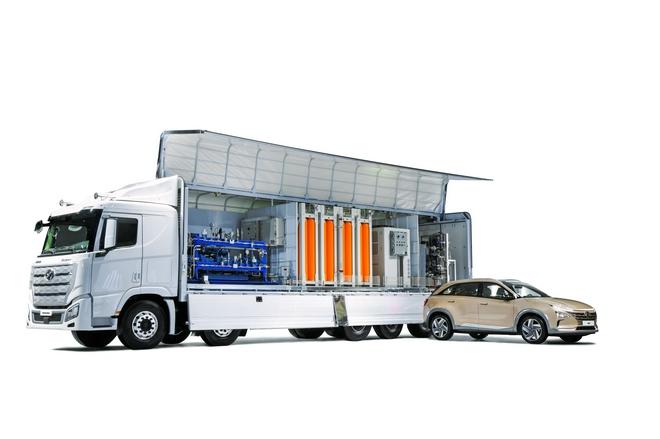 现代汽车集团移动型加氢站