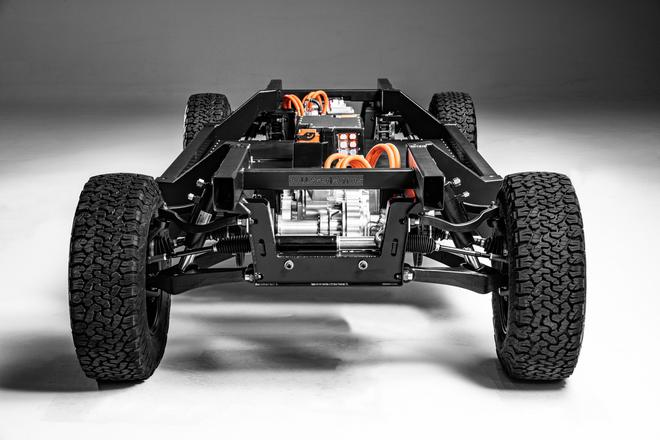博林格汽车发布重型架构电动底盘平台