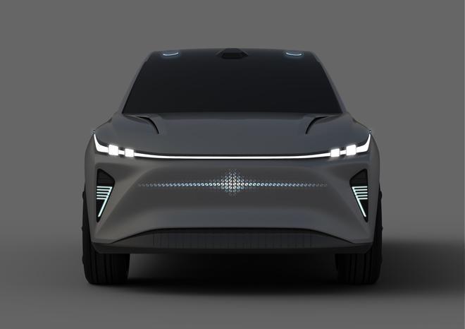 风光S-007概念车官图曝光 将亮相2021上海车展