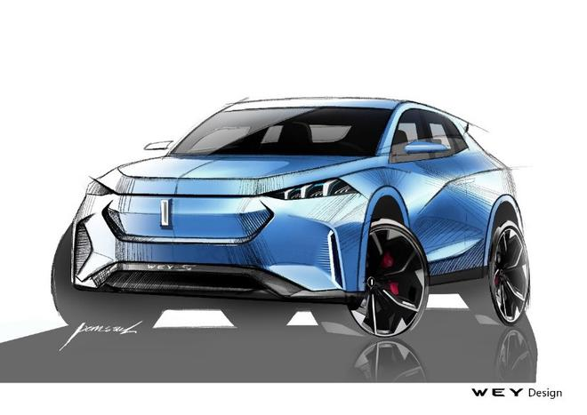 WEY品牌最新概念车将亮相法兰克福车展