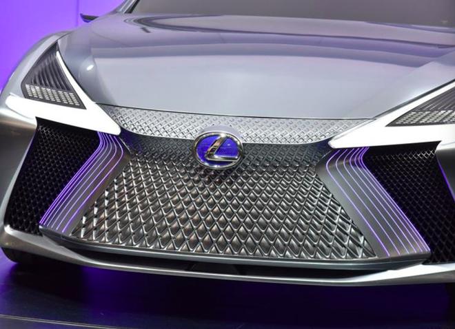 雷克萨斯纯电动概念车预告图
