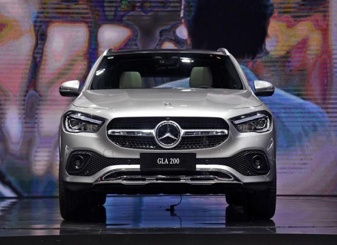 2020粤港澳车展:北京奔驰全新GLA亮相