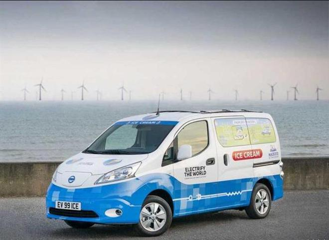 2020CES:日產e-NV200 Ice Cream概念車將亮相