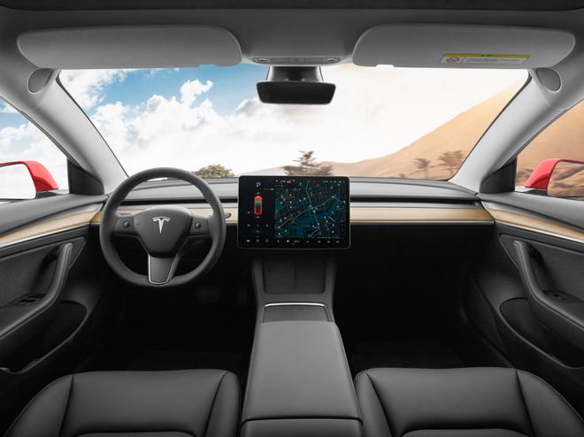 新款特斯拉中国制造Model 3在北京开始全面交付