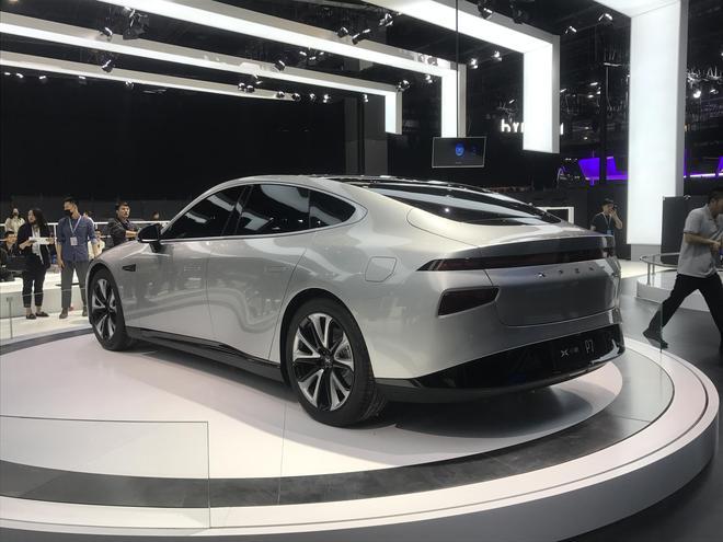 2019上海车展探馆:小鹏P7将亮相车展