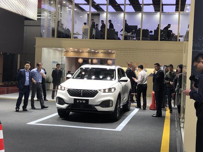 2019上海�展:全新概念�WEY-X正式亮相 汽�殿堂