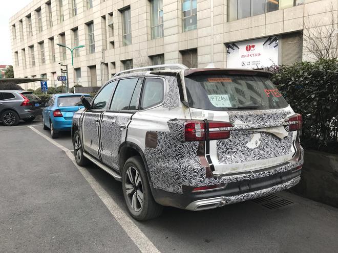 尺寸比RX8还要大 荣威全新七座SUV预计年内上市