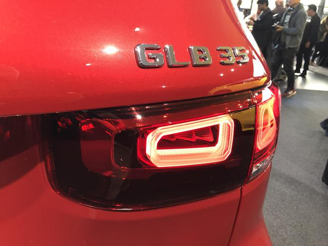2019法兰克福车展:AMG GLB 35车型亮相