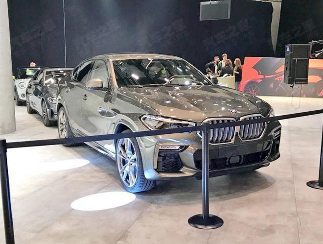 法兰克福车展探馆 宝马全新X6亮相