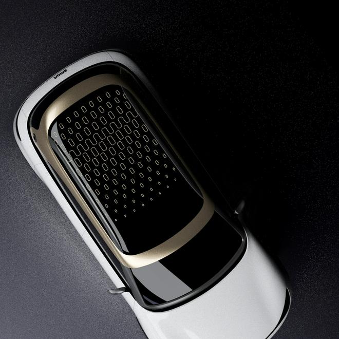 smart发布最新概念车设计细节 9月慕尼黑车展首秀