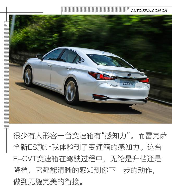 Experience the vitality of an autotest ride new Lexus ES